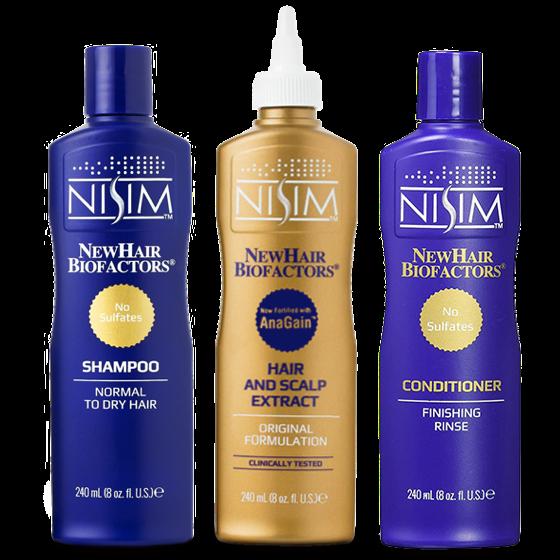 NISIM健髮優惠組合(中乾性頭皮)洗X1.護X1.刺240MLX1